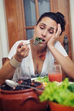 Vermoeid na eten