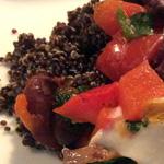 zwarte quinoa als diner