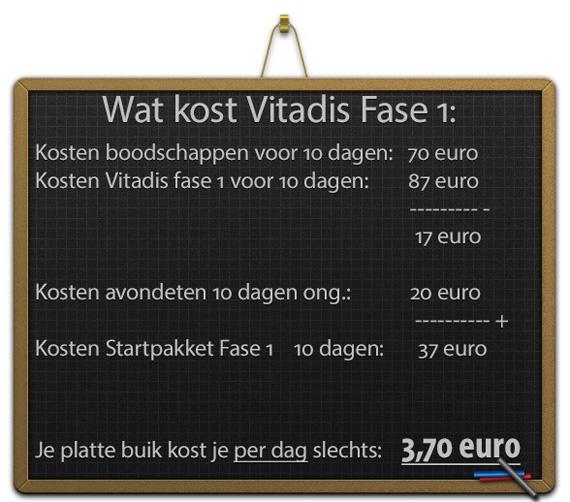 Kosten Vitadis Fase 1